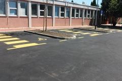Parking za invalide - Dom zdravlja Zapad