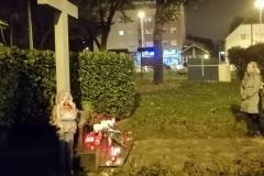 Povodom Svih svetih zapaljene svijeće kod križa u Vrapču