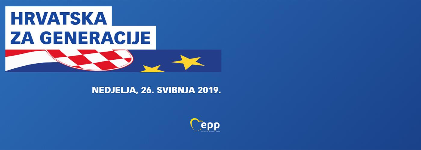 EU izbori 2019. - Hrvatska za generacije