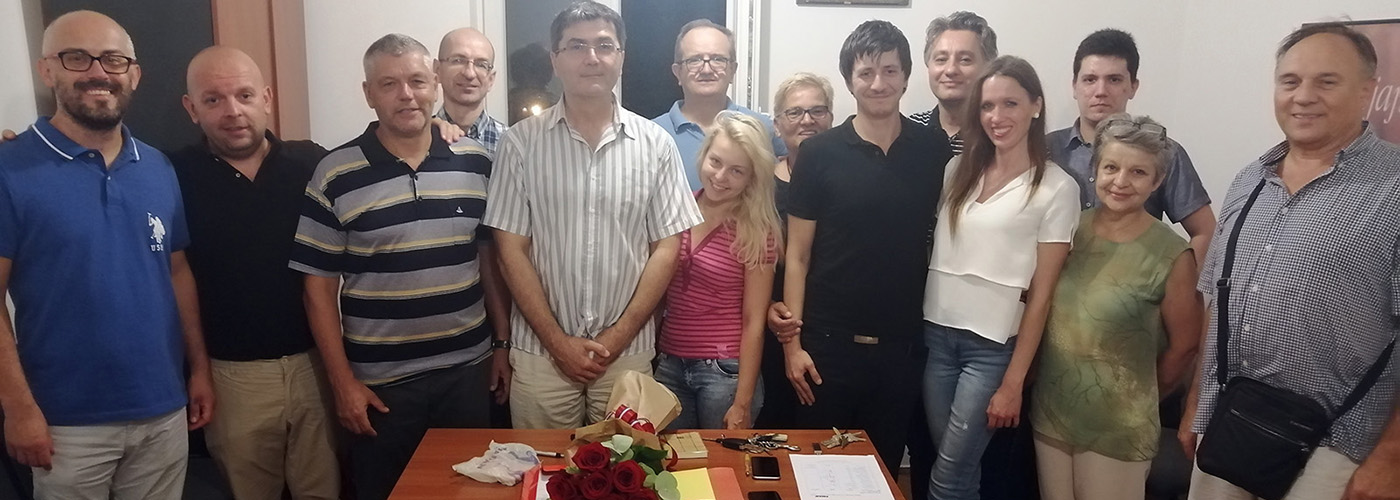 Primopredaja dužnosti predsjednika Odbora gradske četvrti HDZ-a Podused-Vrapče